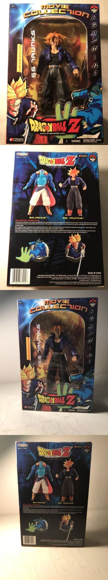 DragonBall Z 7117: Dragon Ball Z Movie Collection Ss Trunks Action Figure Nib -> BUY IT NOW ONLY: $34.99 on eBay!