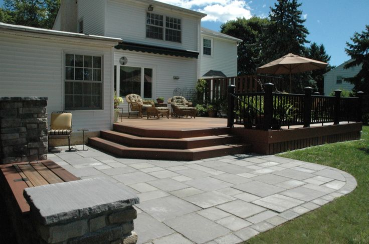 Outdoor patio Deck ideas - Front porches and back patios are our favorite spots to relax in the warmer months. Make yours your favorite escape, too, with these outdoor ...