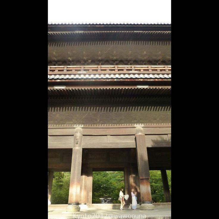 Kyoto2012 Nanzenji Sanmon #kyoto #paisaje #japon #templo #nanzenji #sanmon