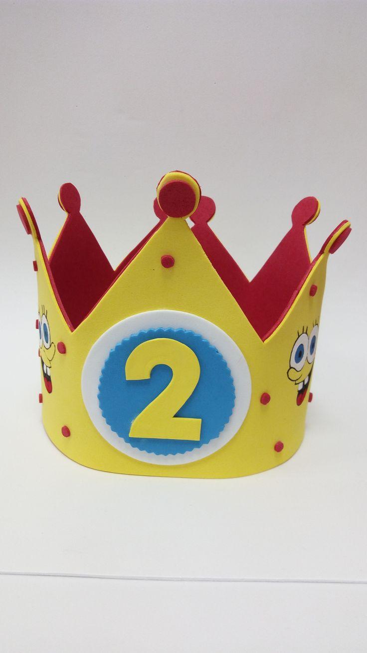 Corona de Cumpleaños de goma eva. LA SHOP de Inrous.
