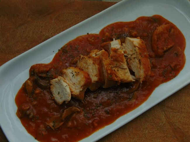 Recetas con encanto: Pechugas de pollo en salsa (Cookeo)