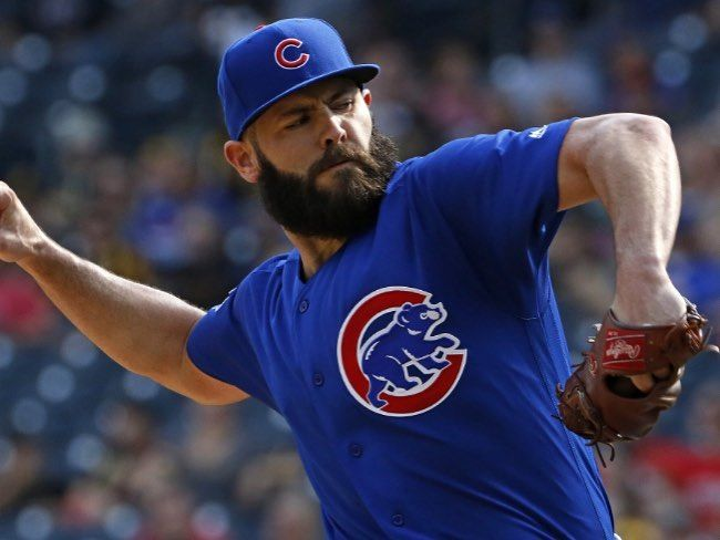 The Cardinals and Cubs are currently competing for former cy young winner Jake Arrieta  #cardinals #cubs #reds #brewers #pirates #news #mlb #traderumors #marlins #braves #nationlas #mets #phillies #rockies #padres #dodgers #giants #diamondbacks #NL #NLcentral #NLwest #NLeast