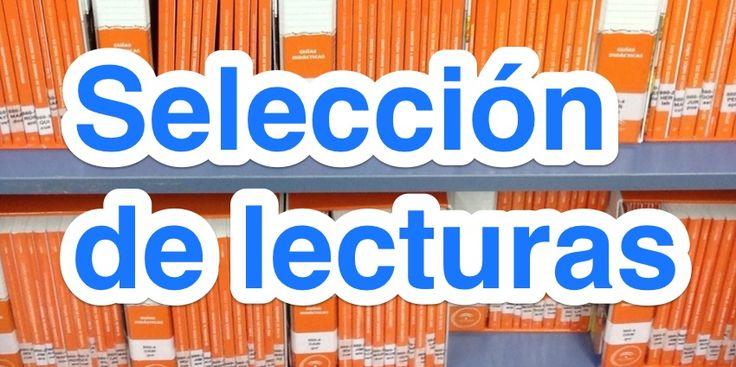 Gemma Lluch. Selección de lecturas para la Biblioteca Escolar. Muy útil.