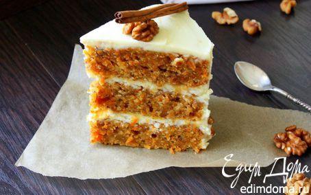 Новый морковный торт   Кулинарные рецепты от «Едим дома!»