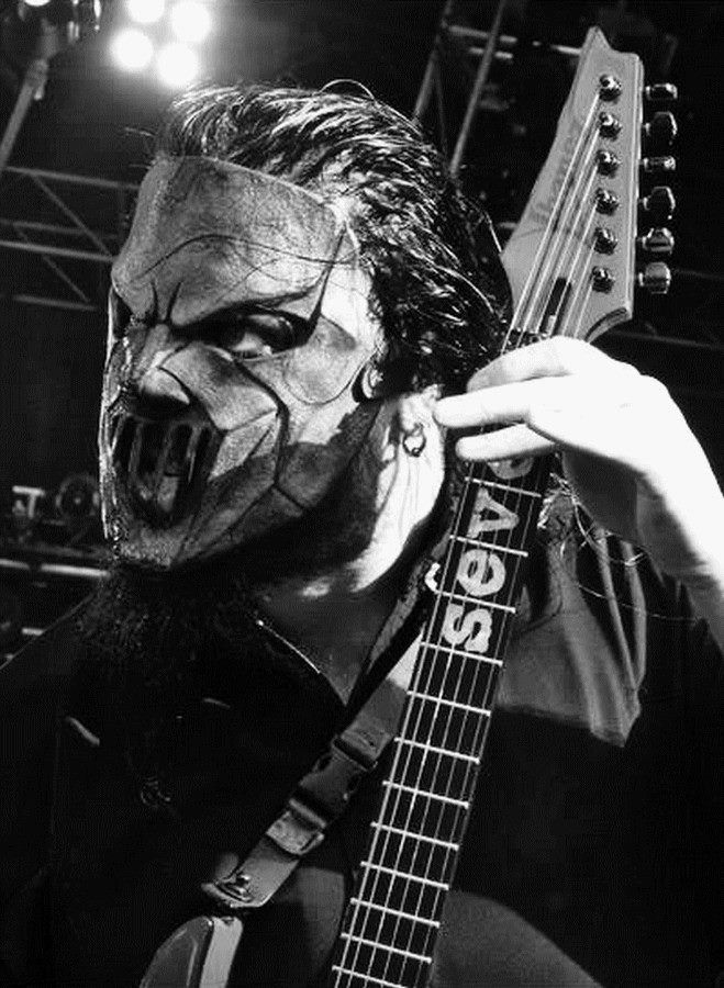 Mick Thomson of Slipknot.
