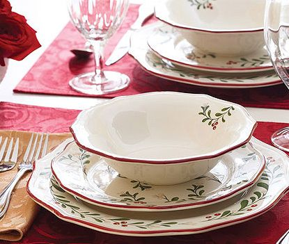 25 best ideas about christmas dinnerware on pinterest - Better homes and gardens dish sets ...