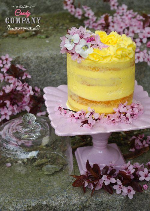 Ajerkoniakowo jeżynowy tort z sernikiem. Candy Company ma 2 lata!