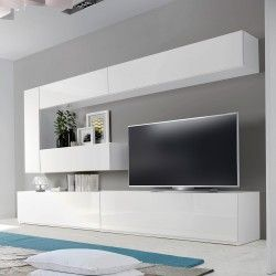 17 best ideas about meuble tv mural on pinterest meuble tv mural design t - Meuble tv mural ikea ...