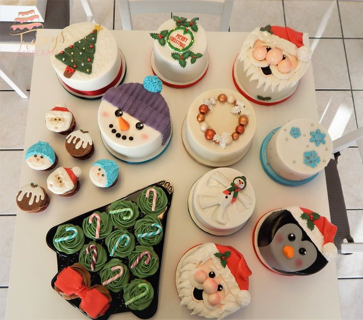 A selection of our Christmas cakes :)