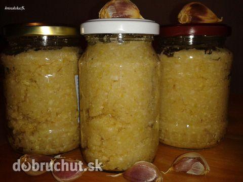 Fotorecept: Cesnaková pasta