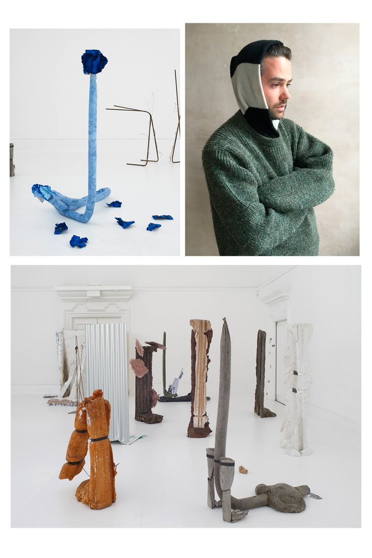 Michael Dean, one of the four artists listed for the 2016 Turner Prize. Learn more at http://www.ifitshipitshere.com/artists-shortlisted-turner-prize/