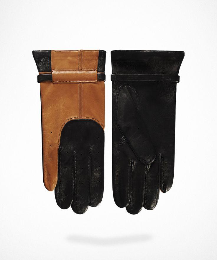 Man Driver Gloves N°1 Caramel
