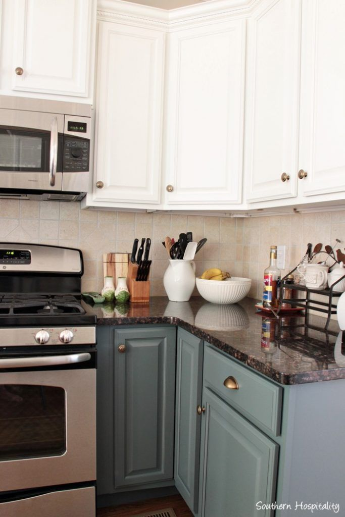 Our Painted Kitchen Cabinets Kitchen Ideas Painting Kitchen