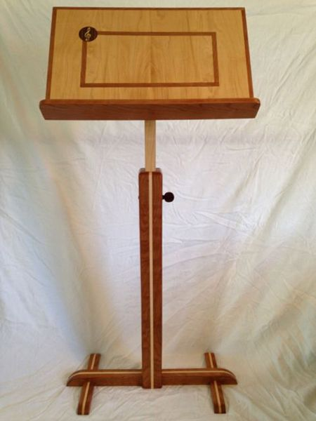 Music Stand Plans Free - WoodWorking Projects & Plans