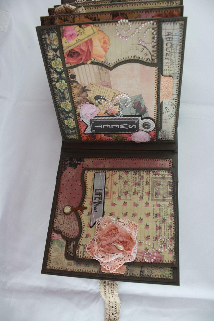 How to make a romantic scrapbook - 6 X6 Romance Novel Scrapbook Mini Album Pdf Tutorial
