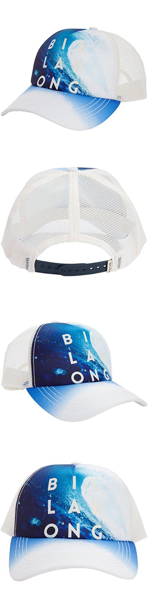 Billabong Junior's Take Me There Trucker Hat, Fiji Blue, One Size