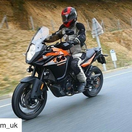 KTM says the 1090 Adventure is the entry to the exciting world of KTM Travel Enduros but its much more than that!  Its a well-equipped fast agile adventure-sports bike - a tourer thats also a thorough blast on back roads  at entry-level price. #KTM #1090ADVENTURE #Repost @ktm_uk http://ift.tt/2lmHDr7