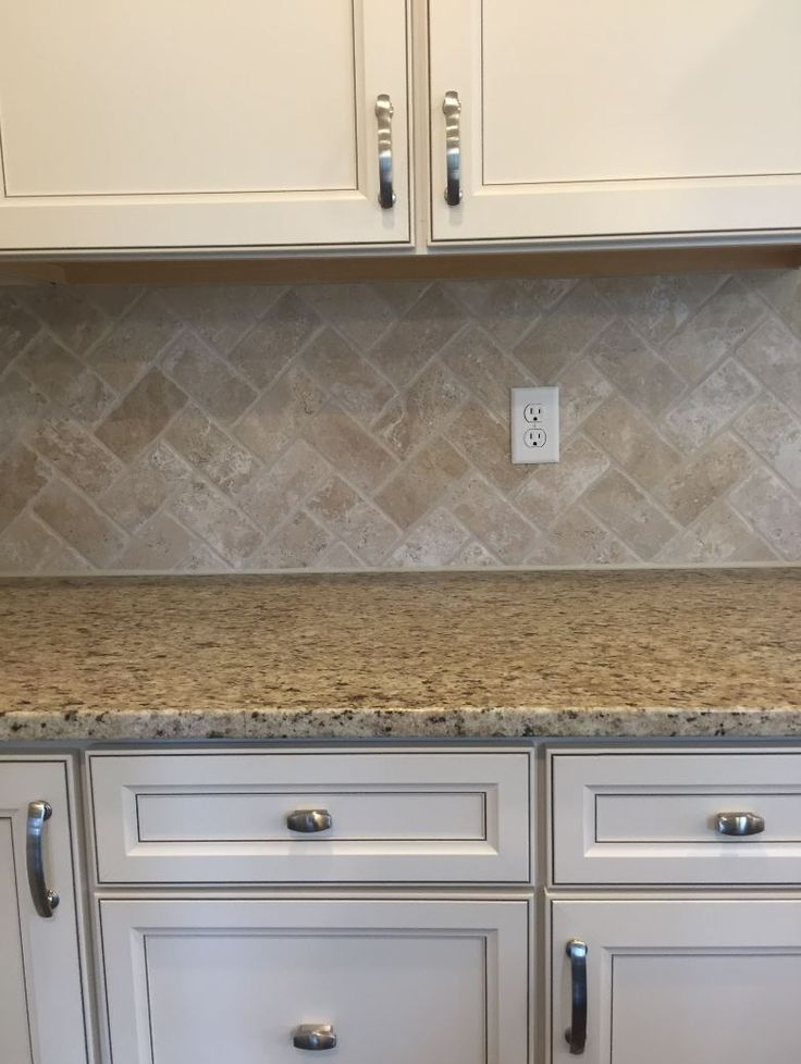 25 Best Ideas About Travertine Backsplash On Pinterest Beige Kitchen Travertine Tile