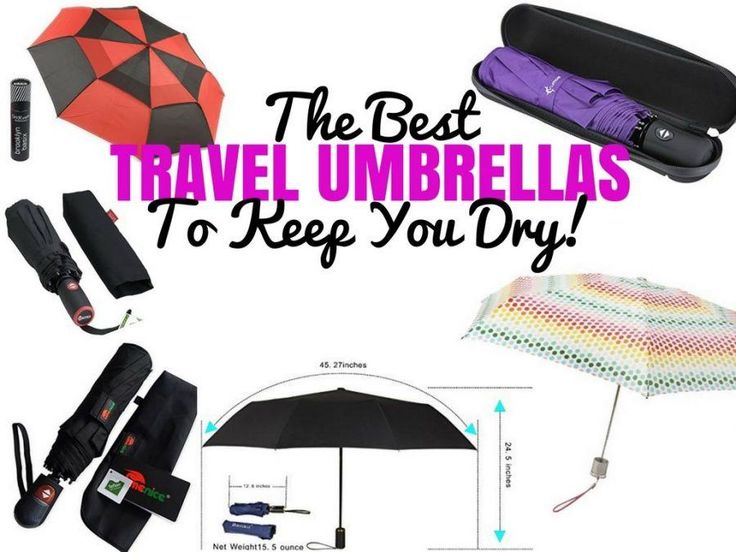Best Travel Umbrellas Reviews   Guide - Travel Blog