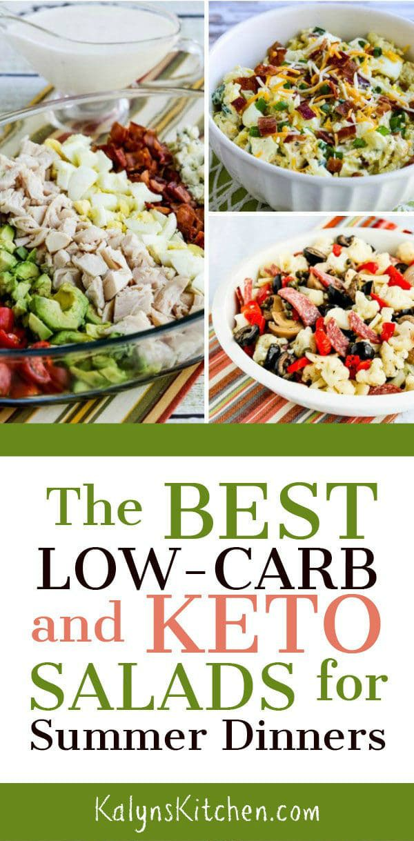 The Best Low Carb And Keto Salads For Summer Dinners