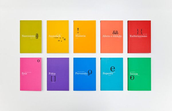 Psychoanalysis book series by FBA. , via Behance