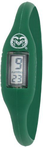 RumbaTime Men's Colorado State University Large Watch by RumbaTime. $8.27. Hey sports fans! Are you up for anything?  This is the ultra stylish and comfortable silicone digital watch that started the trend.  You'll have no problem mixing and matching your favorite team's colors. Small-Children and Small Women, Medium-Most Women and Some Men, Large-Men.  1 Year Warranty