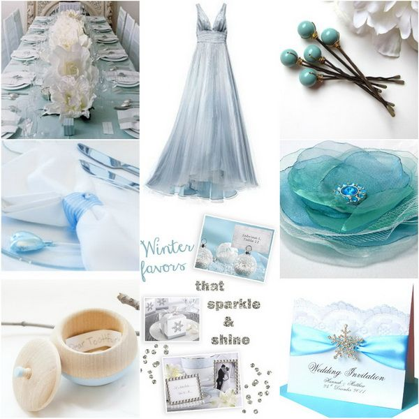 Winter Wedding Colors: 43 Best Silver And Blue Wedding Images On Pinterest