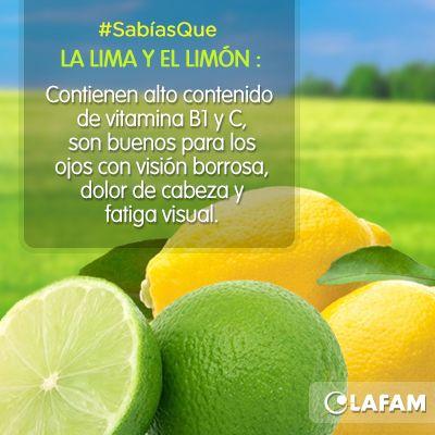 #Limón #Lima #Green #Beneficios #Visión