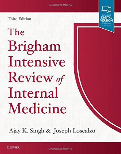 The Brigham Intensive Review of Internal Medicine, 3e - Based on the popular review course from Harvard Medical School, The Brigham Intensive Review of Internal Medicine, 3rd Edition, provides in-depth coverage on all specialties of internal medicine, as well as palliative care, occupational medicine, psychiatry, and geriatric medicine. Ideal for prep...