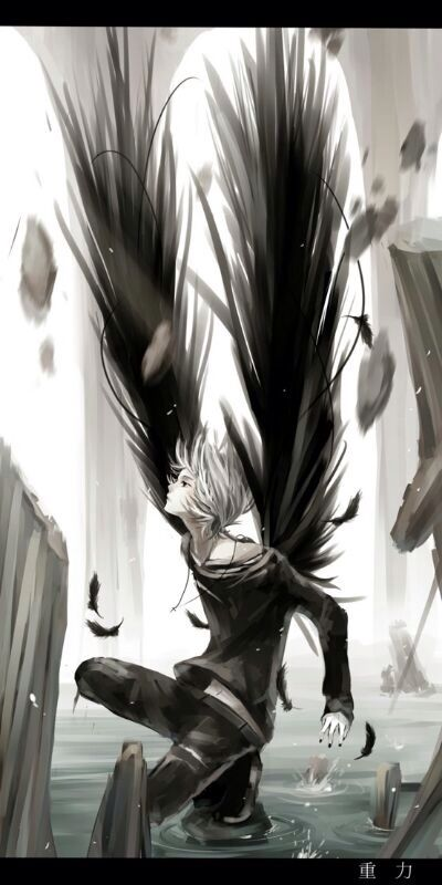 Cool anime guy with wings. | Anime | Pinterest