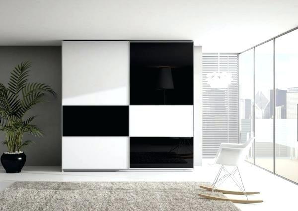 Armoire Noir Et Blanc Dressing La A Dressing Design Armoire Noir Et Blanche Wardrobe Design Bedroom Bedroom Cupboard Designs Wardrobe Door Designs