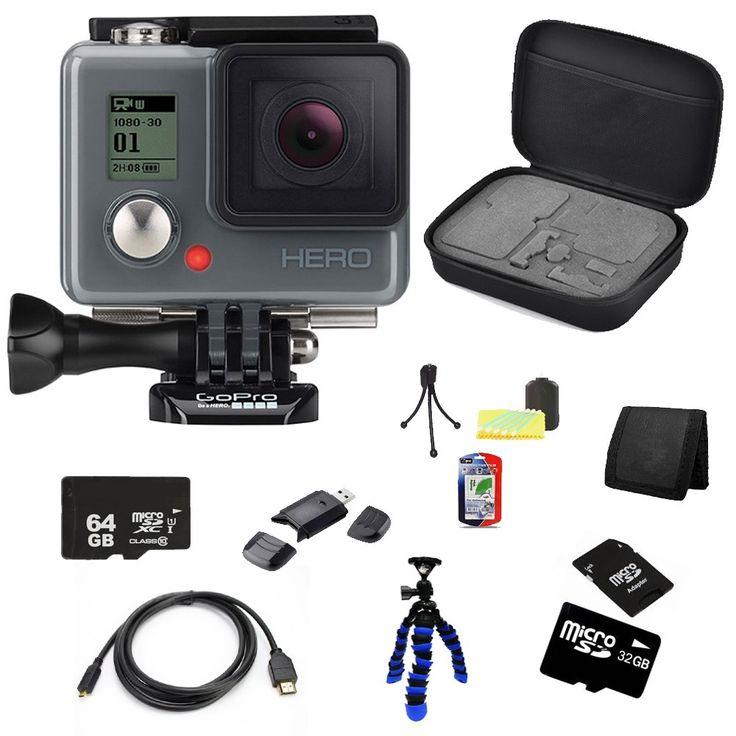 GoPro Hero Action Camera 64 + 32GB Bundle