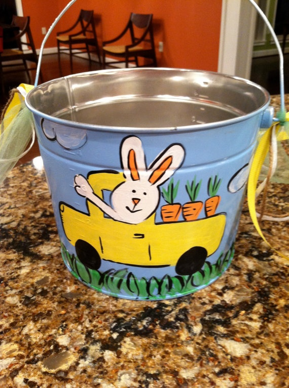 18 Best Easter Buckets Images On Pinterest Easter