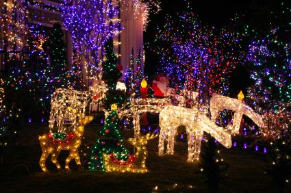 Christmas light displays in Calgary area
