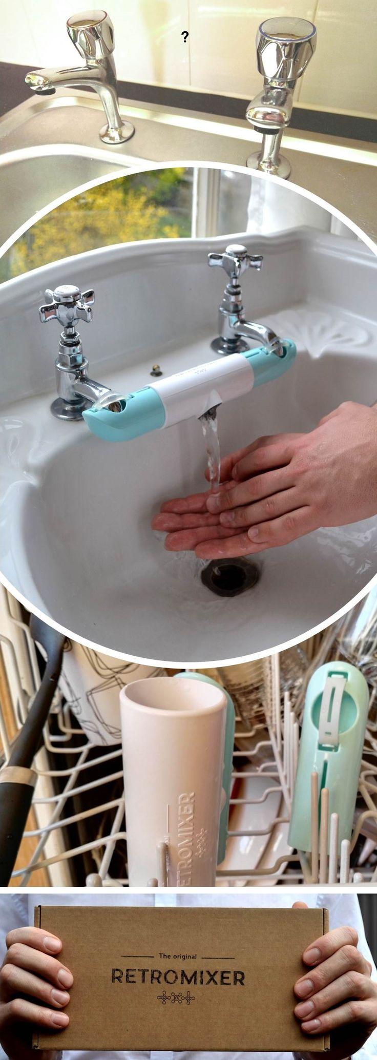 Bathroom tap connector for British sinks / basins