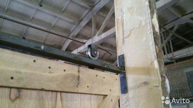 Амбарные двери лофт из старой дубовой доски. Производим и устанавливаем. Все включено в стоимость указанную в объявлении. Воз...