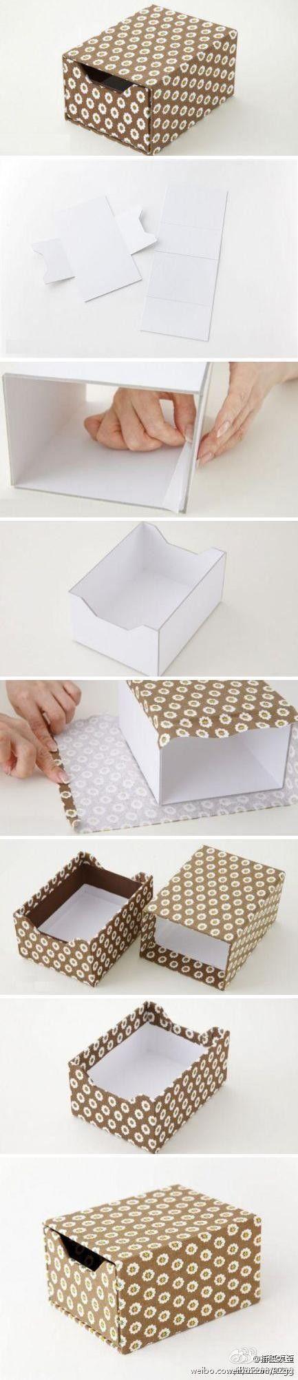 caja de Almacenamiento de Papel cortado
