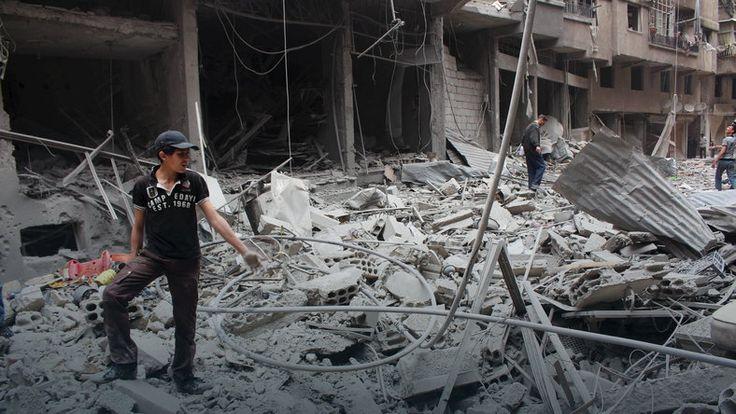 Syria: starożytnej Palmirze zagrażają dżihadyści IS #ISIS #terroryzm