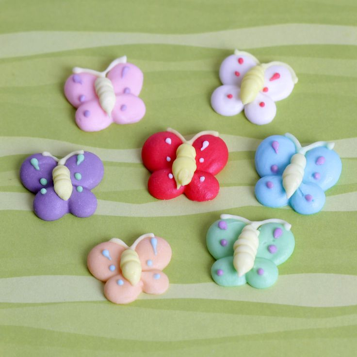 Top your delicious cupcakes with these adorable Butterflies. Perfect for any…