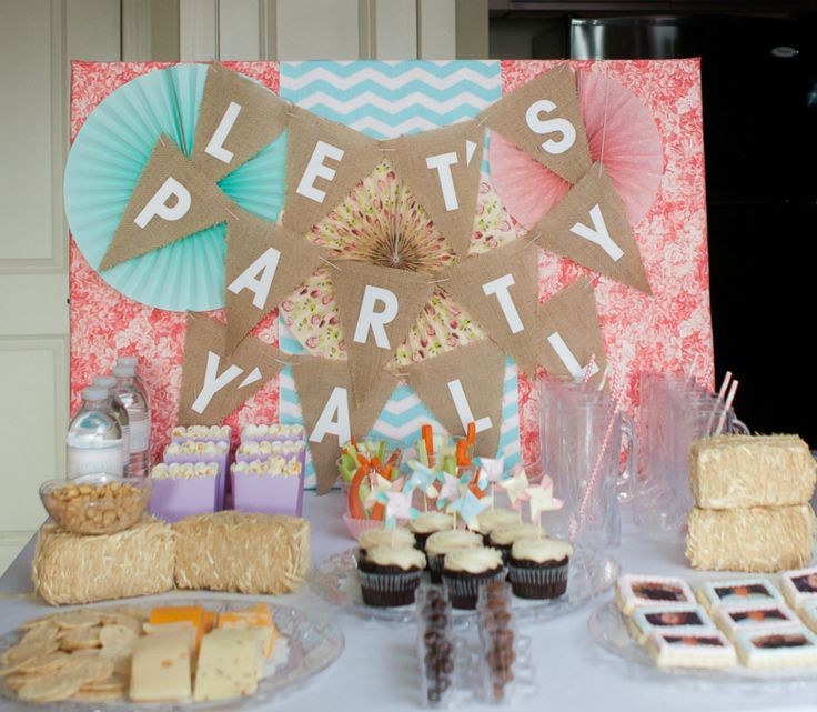 We Heart Parties:  Vintage Nashville Bachelorette Party - Let's Party Y'all!