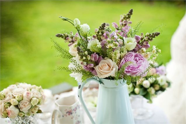 Country Style Flowers - Blush Floral Design