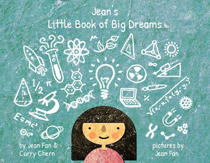 Jean's Little Book of Big Dreams e-book  Sample customized copy of _'s Little Book of Big Dreams for Jean. Make your free customized PDF e-book at cuSTEMized.org