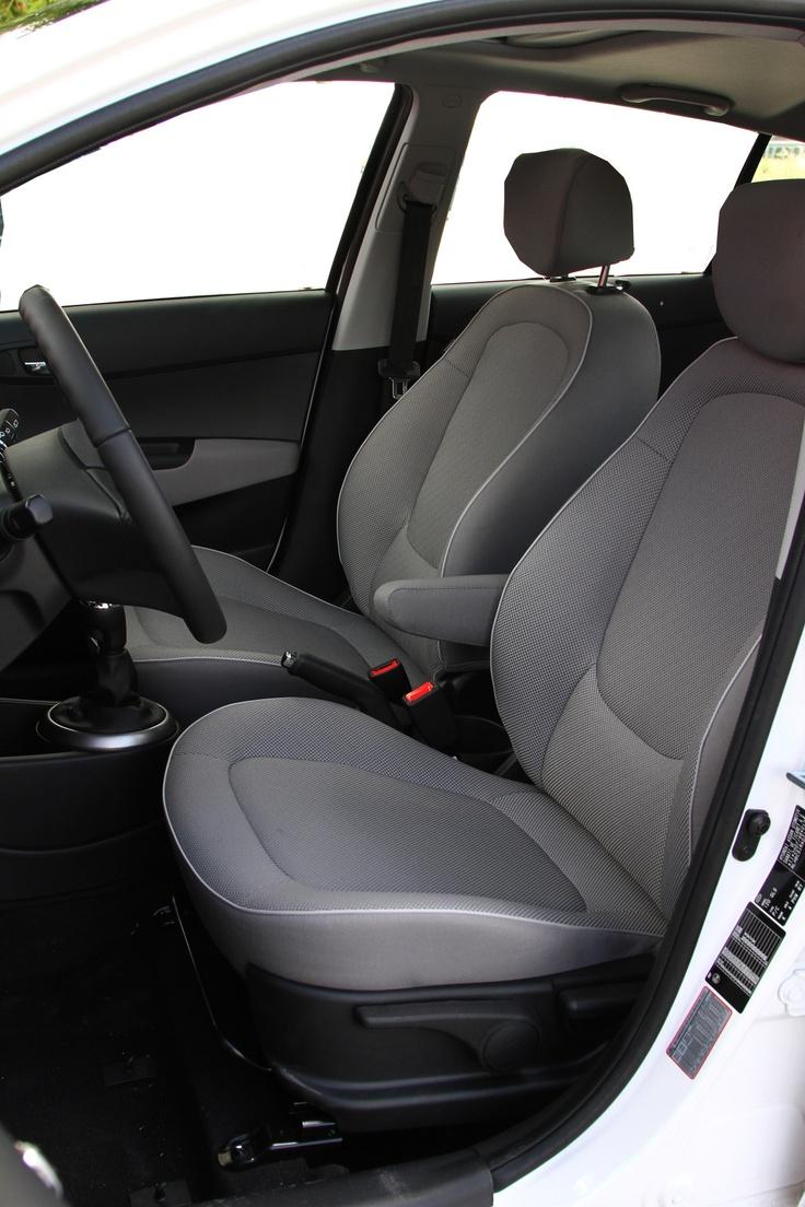 Detalle del interior Hyundai i 20