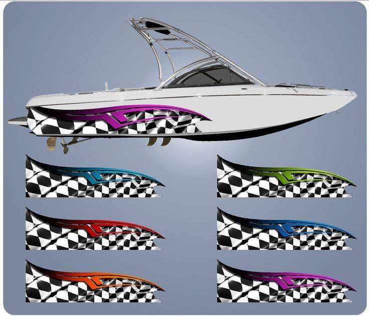 Graphics For Checkered Flag Boat Graphics Wwwgraphicsbuzzcom - Decals for boat motorsoutboarddecalscom s of decals in stock