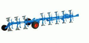 Lemken Semi Mounted Reversible Plough Vari Titan Bruder 02250