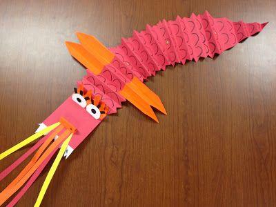 Gung Hey Fat Choy! Chinese New Year Dragons | TeachKidsArt