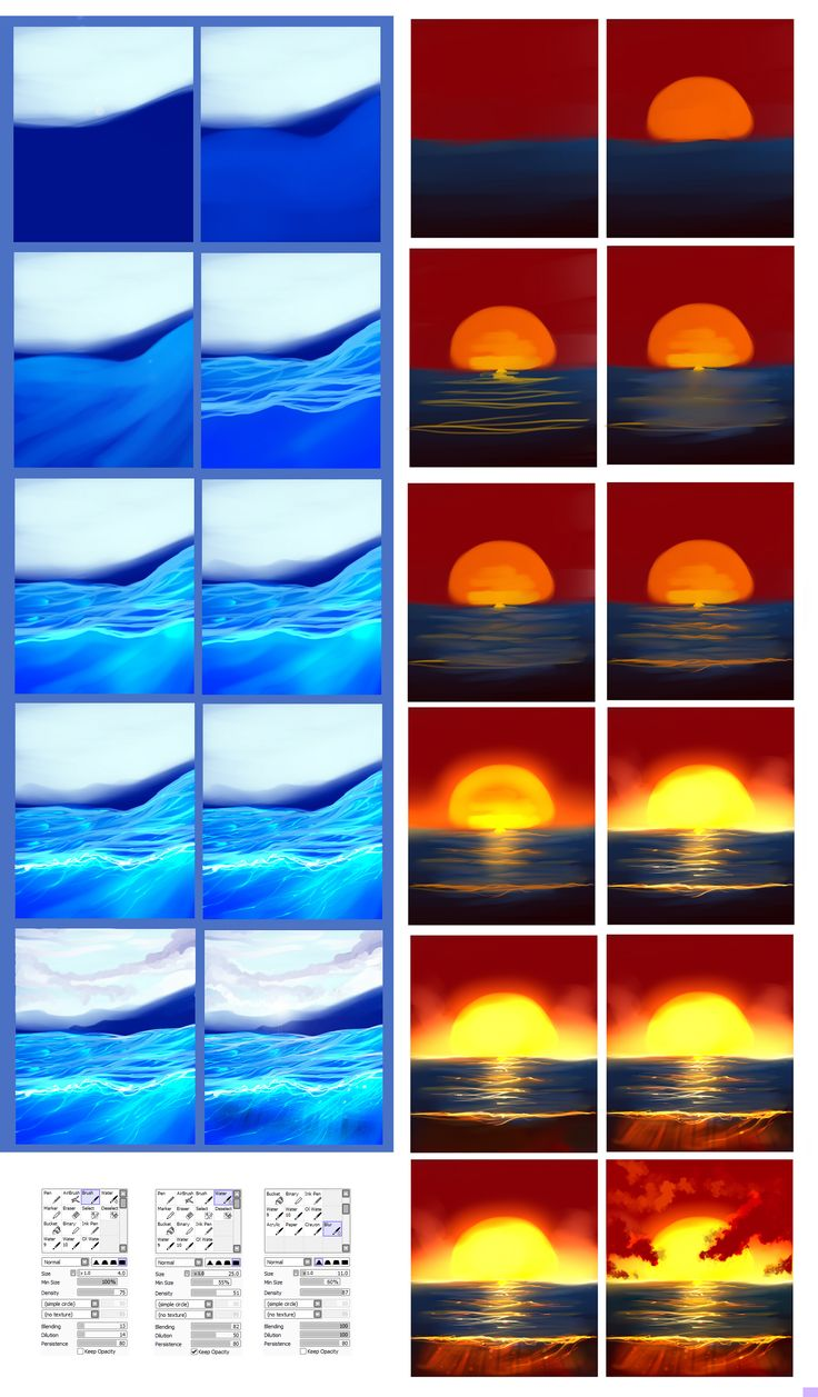 Water - tutorial by ryky.deviantart.com on @deviantART