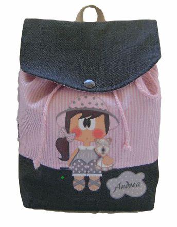 Mochila niña personalizada Www.milunaropainfantil.com #bebes #vueltaalcole                                                                                                                                                                                 Más
