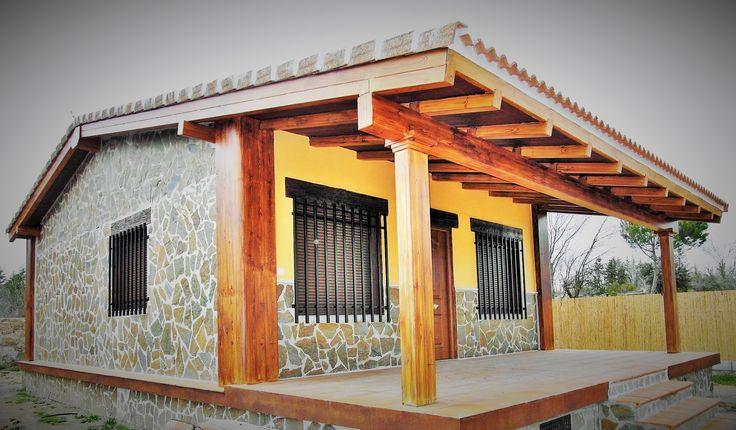 Casa de campo prefabricada de hormigon vivienda de 90 m2 for Casas de campo prefabricadas