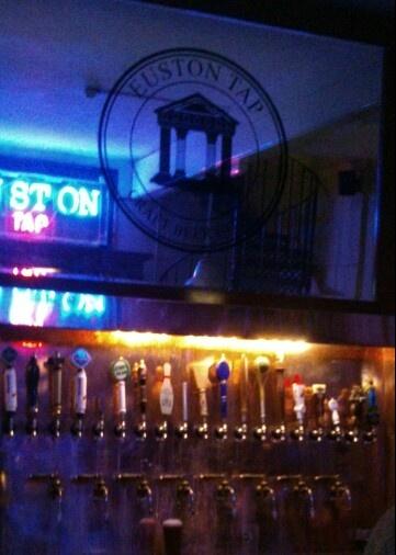 A super tap in Euston